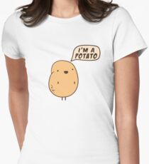 I'm a Potato Women's Fitted T-Shirt