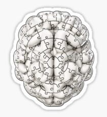 Puzzle brain GINGER Sticker