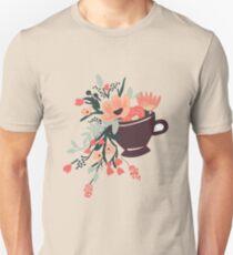 Tea Cup Design T-Shirt