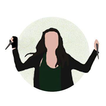 Teen Wolf Pack Graphic - Allison by twerewolfitude
