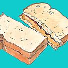 PBJ Sandwich by William Fehr
