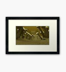 Fifth world Scene Framed Print