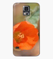 Funda/vinilo para Samsung Galaxy Mexican Poppy