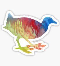 Moorhen Sticker