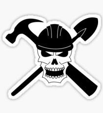 A Pirate By Trade Sticker
