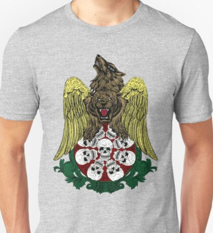 Griffin Wolf and Skulls T-Shirt