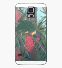 Lorrikeet in the Banksias Case/Skin for Samsung Galaxy