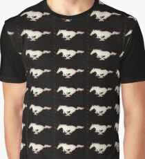Horse, MUSTANG pony Graphic T-Shirt