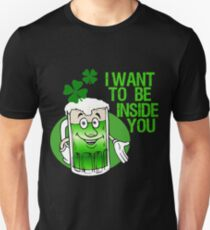 Green Beer Innuendo St Patrick's Day T-Shirt