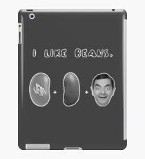 I Like Beans iPad Case/Skin
