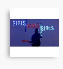 Girls, girls, girls  Canvas Print