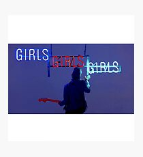 Girls, girls, girls  Photographic Print