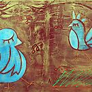 Blue Birds by Laura Barbosa