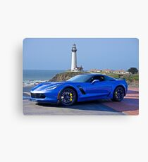 2016 Corvette Z06 Coupe Canvas Print