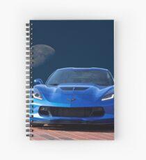 Chevrolet Corvette C7 'Blue Moon' Spiral Notebook