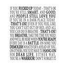 You're a warrior by mariatorg