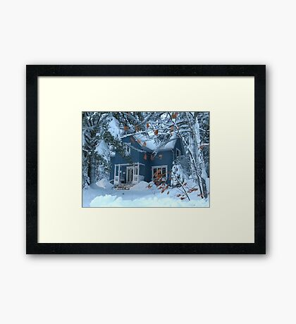 Let It Snow?   Framed Print