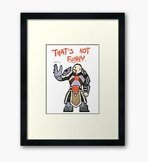 Smite - That's not funny (Chibi) Framed Print