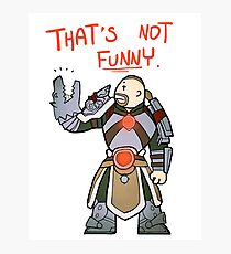 Smite - That's not funny (Chibi) Photographic Print