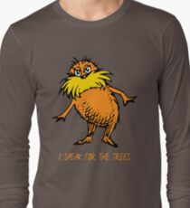 I Speak For The Trees - Lorax Long Sleeve T-Shirt