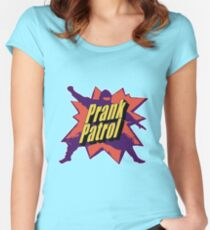 Prank Patrol Women's Fitted Scoop T-Shirt