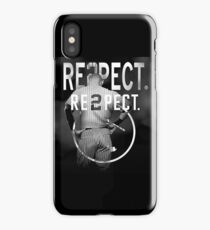 derek Jeter Respect 2 iPhone Case/Skin
