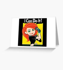 I Can Do It! Whats the Sitch? Greeting Card