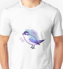 Watercolor Sketch Passerine Unisex T-Shirt