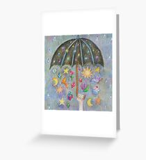Sunshine on a rainy day Greeting Card