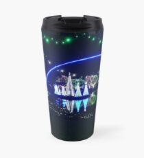 Lights at the zoo at night Travel Mug