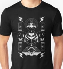 The Bounty Hunter - White Ink Unisex T-Shirt