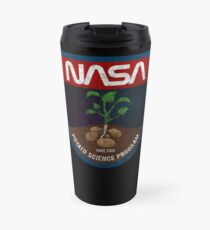 The Martian - Potato Science Program - Black Dirty Travel Mug