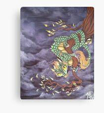 Tree Dragon Canvas Print