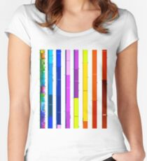 Complete Geologic Time Scale Women's Fitted Scoop T-Shirt