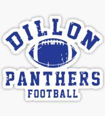 Dillon Panthers Football Sticker