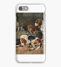John Emms - Beagles - Fathers of the Pack iPhone Case/Skin