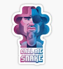 Snake Plissken (Escape From New York) Sticker