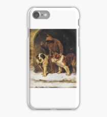 John Emms - St. Bernards - To the Rescue, iPhone Case/Skin