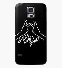 Funda/vinilo para Samsung Galaxy el ganador adivina quién está de vuelta