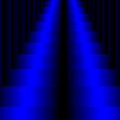 Electric Blue Steps by ScaleDesigns
