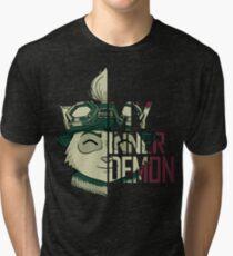 My inner demon Tri-blend T-Shirt