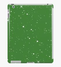Starscape Trading Card Pattern Green iPad Case/Skin