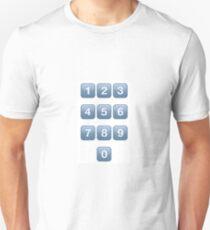 Keypad 0-9 T-Shirt