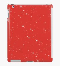 Starscape Trading Card Pattern Red iPad Case/Skin