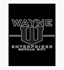 wayne Photographic Print