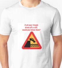 Drove Off A Cliff T-Shirt