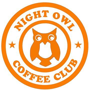 Night Owl Coffee Club by southfellini