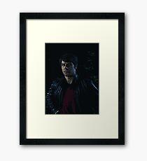 Grimm - Nic portrait Framed Print