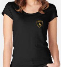 Labradoggi (small logo) Women's Fitted Scoop T-Shirt