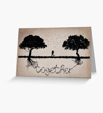 together 4 Greeting Card